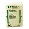 Embalagem de 25 Kg Sal Refinado Centrifugado ESCO